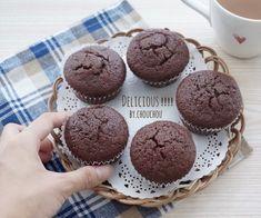 HM使用で♡超濃厚チョコマフィン-ホットケーキミックス*簡単* LIMIA (リミア)