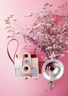 Pastel Mood # 1 Saladelle, Argentic and Photo Tricks - Camera, Acmera accessories, and so on Antique Cameras, Old Cameras, Vintage Cameras, Pink Photography, Dslr Photography Tips, Vintage Photography, Vintage Love, Vintage Pink, Vintage Photos