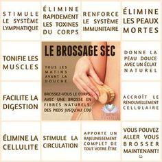 Les Bienfaits du Brossage Sec | LE BROSSAGE SEC Le Monde s'Eveille Grâce à Nous Tous ♥