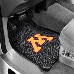 Functional and fun, the Minnesota Golden Gophers Front Floor Car Mats protect your car while looking team proud and strikingly handsome.
