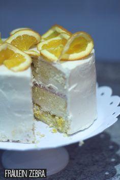 Orangentorte   Orange Layer Cake