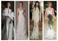 See the top 4 bridal spring 2016 trends