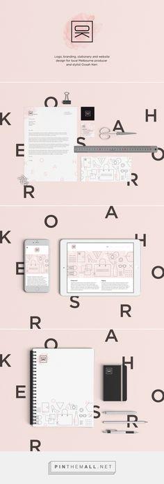Oosah Kerr Branding by Nick Edlin on Behance   Fivestar Branding – Design and Branding Agency & Inspiration Gallery
