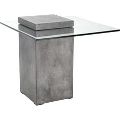 Grange Coffee Table - The Grange is both a modern coffee table and a bold conversation piece. Defining structured minimalism, the Grange is crafted of sealed concrete, . Glass Furniture, Concrete Furniture, Cool Furniture, Modern Furniture, Furniture Design, Living Room Furniture, Antique Furniture, Furniture Movers, Steel Furniture