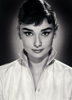 Audrey Hepburn by Jack Cardiff (1956)