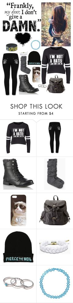 """""""""""I'm not a hater, I just don't like you"""" - Elena (myself)"""" by nationalnerd ❤ liked on Polyvore featuring Sally&Circle, Kate Spade, Forever 21, Charlotte Russe, With Love From CA and Boohoo"""