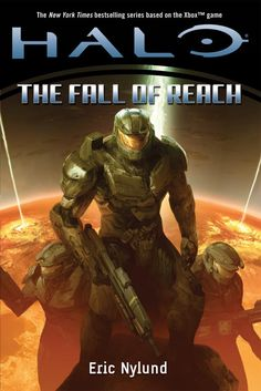 The first book, Halo: Fall of Reach, to one of the Halo book series. Gives a way bigger perspective to the series (as I've haven't played Reach yet).