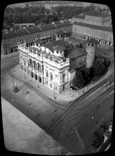 TORINO VINTAGE Piazza Castello , 1935