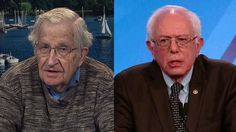 """Who is the world-renowned political dissident Noam Chomsky voting for? """"In the primaries, I would prefer Bernie Sanders,"""" Chomsky says. """"If Clinton is nominated and it comes to a choice between Clinton and Trump, in a swing state, a state where it's going to matter which way you vote, I would vote against Trump, and by elementary arithmetic, that means you hold your nose and you vote Democrat. I don't think there's any other rational choice."""""""