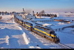 RailPictures.Net Photo: IC 6413 Iowa, Chicago & Eastern EMD SD40-2 at Monona, Iowa by Craig Williams