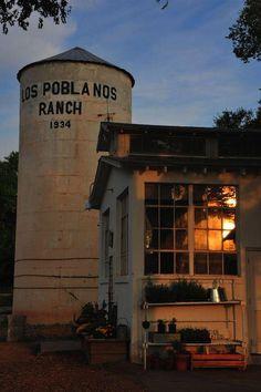 Love the grain silo // Los Poblanos Historic Inn