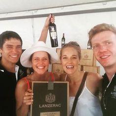 Lekker wyn met lekker mense!! #Lanserac #Stellenbosch #favourite #lekkerste #stellenboschwinefest @Lanzerac@riamarais