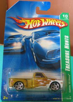 Custom '69 Chevy Pickup Hot Wheels 2007 Treasure Hunts