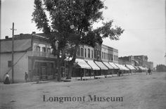 Main Street, 300 Block Longmont, Colorado 1905 -1916