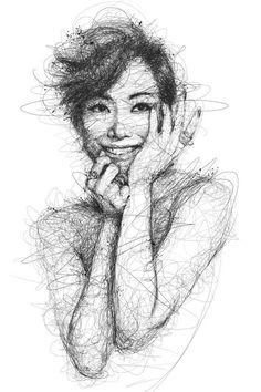 """Oeuvre by Vince Low - Célébrité """"Sammi Cheng"""""""
