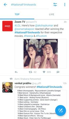 Top twitter trends, akshay kumar, national film award