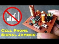 How to Make Cell Phone Signal Jammer - Electronics Projects Hub Cheap Cell Phones, Used Cell Phones, Newest Cell Phones, Electronics Projects, Electronic Circuit Projects, Arduino Projects, Cell Phone Deals, Diy Tech, Circuit Diagram