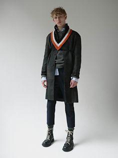 Photo Thomas Goldblum -  Fashion editor Ben Martinengo - Models #ConnorRowson at Success Models - Grooming Christos Vourlis CV