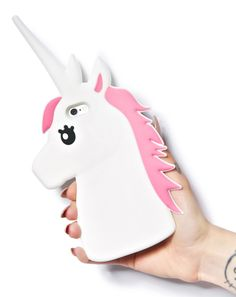 Talk to the Unicorn! Every Unicorn Lover's collection is not complete until you have one of these adorable phone cases! Compatible iPhone Model: iPhone 6 Plus,iPhone 7 Plus,iPhone plus,iPhone SE,iPhone High Quality Soft Silicone Iphone 6s Plus, Iphone 6 Cases, Cute Phone Cases, Phone Covers, Free Iphone, Unicorn Phone Case, Kawaii Phone Case, Apple Iphone 6, Deco Tumblr