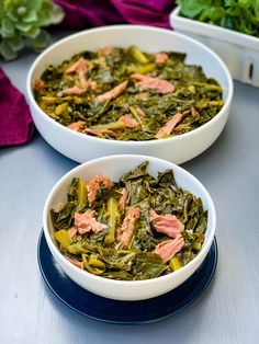 Don't you love how the insta-pot lux or duo does e Instant Pot Collard Greens Recipe, Cooking Collard Greens, Southern Style Collard Greens, Instant Pot Pressure Cooker, Pressure Cooker Recipes, Slow Cooker, Mac And Cheese Recipe Soul Food, Southern Mac And Cheese, Smoked Turkey Legs