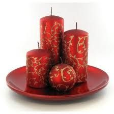 christmas candles - Google Search