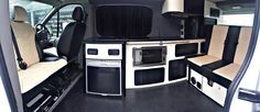 Tourer Curve VW T5 Campervan Conversion. Facilities include, power management system, twin hob and sink, compressor fridge, seating system, led lighting and much more