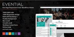 Download Evential  One Page Responsive Event WordPress Theme v1.2 Download Evential  One Page Responsive Event WordPress Theme v1.2 Latest Version