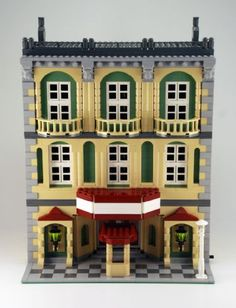 Cafe Corner Compatible Theater: A LEGO® creation by Nathan E : MOCpages.com