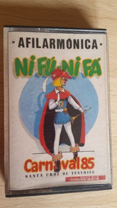 Cassette Carnaval año 1985. Afilarmónica Nifú Nifá