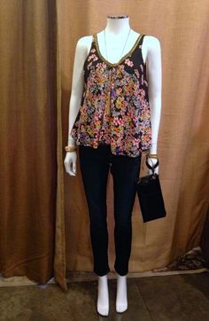 Fun top for summer 2015. What to Wear to Events This Spring. Featuring Affordable Items! www.styleblueprint.com