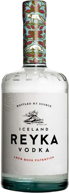 Reyka Vodka: Reyka Vodka from Iceland