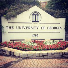 University of Georgia - expected graduation 2020. if i actually go. crossing my fingers