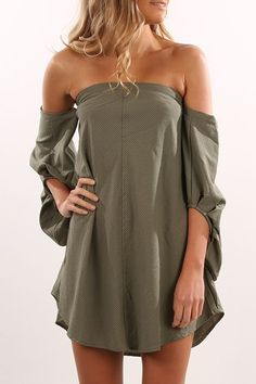 Christina Dress Khaki