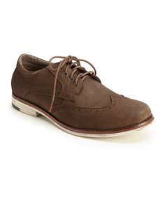 Another great find on #zulily! Coffee George Leather Oxford by MUK LUKS #zulilyfinds