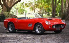 47 1961 Ferrari 250 GT SWB California Spider - Gooding
