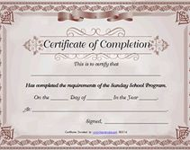 Red cap free printable certificate of completion sunday school burgundy free printable certificate of completion sunday school yadclub Gallery