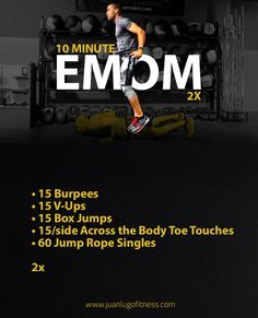 Emom Workout, Gym Workouts, At Home Workouts, Workout Routines, Fitness Tips, Fitness Motivation, Conditioning Workouts, Best Cardio, Workout Session