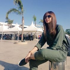 Touchdown Morroco for Maine Mendoza Maine Mendoza Outfit, Morocco Travel, Film Festival, Bomber Jacket, Actresses, Outfits, Book Fandoms, Travelling, Babe