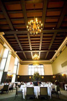 University Club of Portland, Main Dining Room. #universityclubofportland #uclubpdx