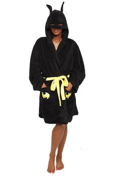 $39.50  DC COMICS BATMAN HOODED ROBE  Sleepwear | Clothing