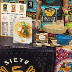 At #paleofx2017 - find samples of our Taco Seasoning and a recipe card for Shimp Tacos at the @sietefoods booth! Supplies are limited to first 50 people!!  Big thanks to the Siete fam for sharing the love!!! They are the best!  #primalpalatespices #sietefoods