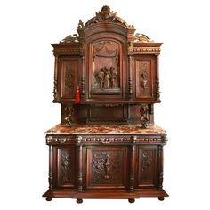 Antique European Buffet   From a unique collection of antique and modern…