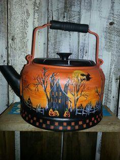 Hp Halloween tea pot.