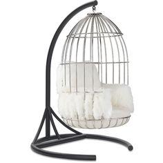 Mitchell Gold + Bob Williams Bastille Chair Tibetan Fur ($5,304) ❤ liked on Polyvore