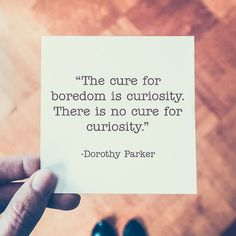 🙂This Sunday's quote is from American poet, writer and critic Dorothy Parker🙂 ⠀ .⠀ ☄️Tag in your wonderful… Dorothy Parker, American Poets, Critic, Inspiring Quotes, The Cure, Sunday, Cards Against Humanity, Instagram, Life Inspirational Quotes
