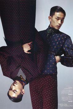 Model Call: Sung Jin Park