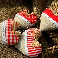 Christmas Stockings, Baby Shoes, Czech Republic, Holiday Decor, Kids, Home Decor, Xmas, Fabrics, Hearts