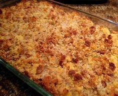 Mama's Cornbread Dressing PLUS homemade cornbread recipe