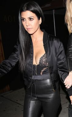 Kourtney Kardashian Shows a Bit Too Much Skin at Kendall Jenner's Birthday Party  Kourtney Kardashian, Nip Slip, Kendall Jenner's Birthday Party