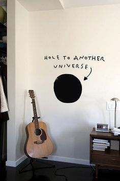 Warning: Hole may not be active. Enter wall decal at your own risk.